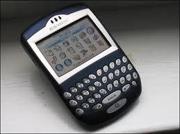 Oude Blackberry 7290 telefoon