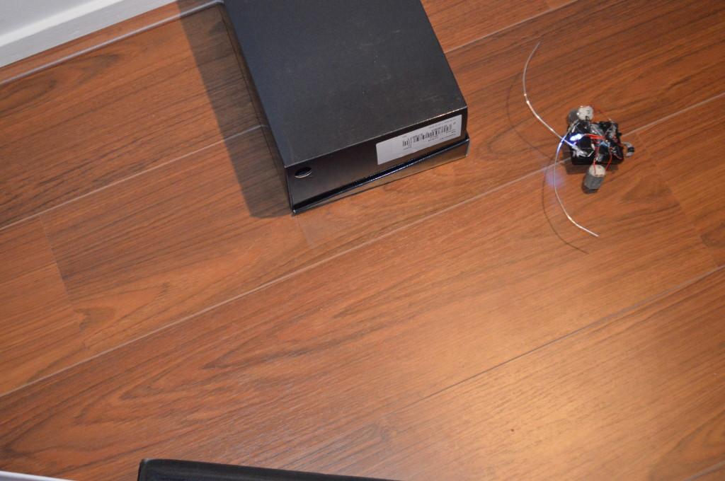 Kever Robot: boven in actie doolhoof