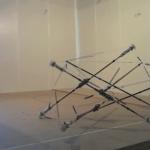De staaf gebaseerde robot van de NASA