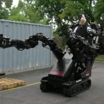 Robotarmen van het bedrijf Raytheon-Sarcos