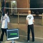 Badminton robot Jada