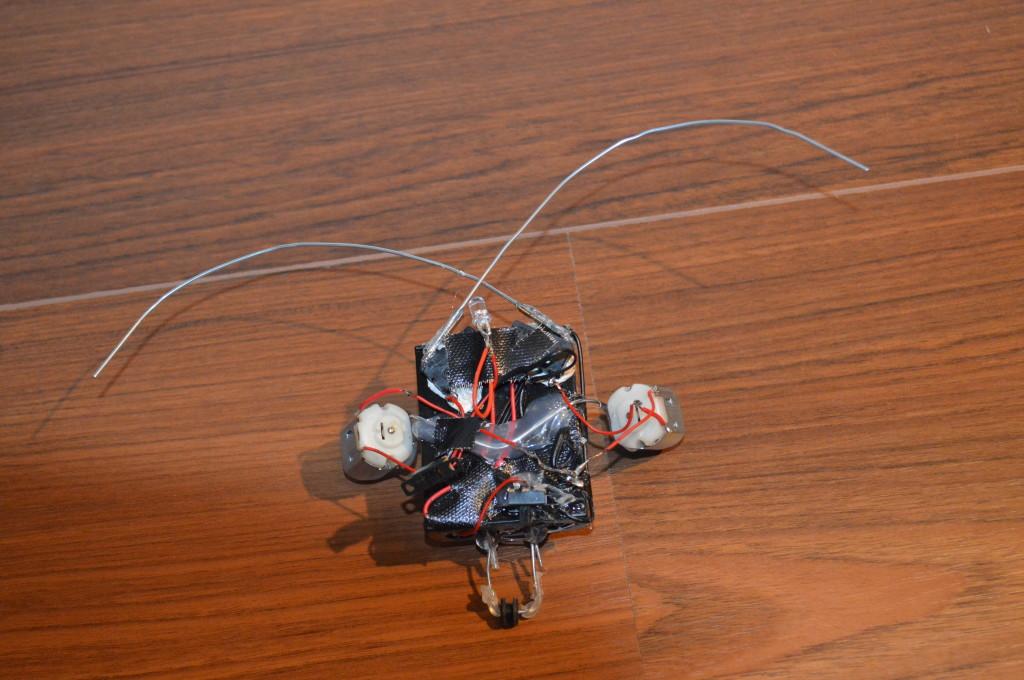 Kever Robot: Boven in actie