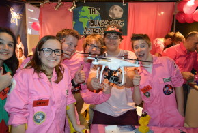 De FIRST LEGO League Benelux finale 2014 was een groot succes