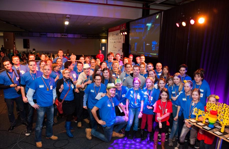 Juryleden FLL Benelux finale 2013-2014