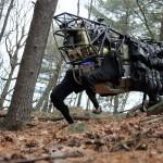LS3 robot van DARPA
