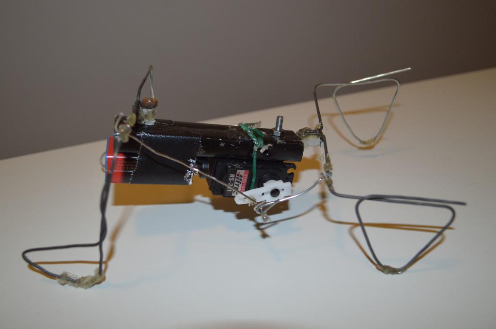 Osci robot gezien vanuit de zijkant