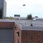 Sand Flea robot springt over gebouwen heen