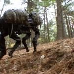 Het Amerikaanse leger bouwt de legerrobot Bigdog