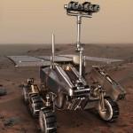 De ruimte robot ExoMars Rover gaat opzoek naar lever op Mars