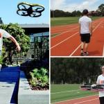 Joggobot: een robot om mee te joggen