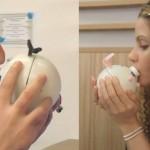 Lovotics: kissenger, robot helpt om op afstand met elkaar te kussen