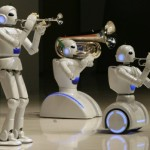 Robots die muziek maken