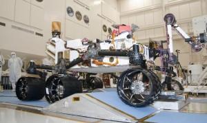 NASA stuurt de ruimterobot Curiosity voor een 10-jarige missie naar Mars
