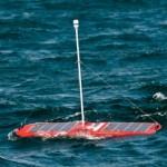 Een robot van Liquid Robotics die de oceaan verkent
