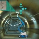 Robinspect robot scant scheuren in tunnels