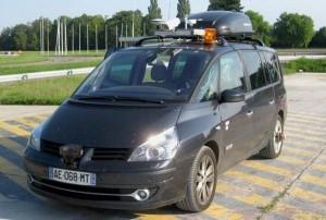 Zelfrijdende robot auto